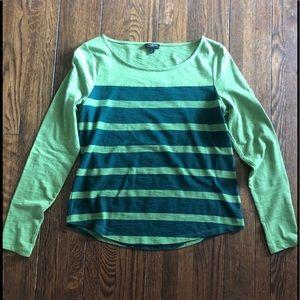 Talbots 100% cotton long sleeve t-shirt